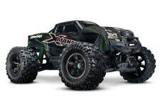 """Traxxas X-maxx"""" 8s"""" 4x4 brushless Monster TSM RTR vert #77086-4g"""