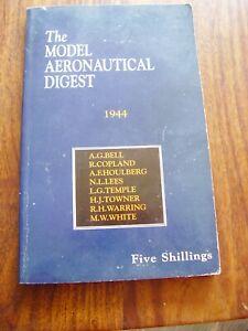 The Model Aeronautical Digest 1944 (Paperback) AEROMODELLER MODEL AIRCRAFT