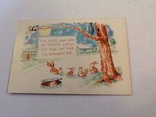 Vintage NuBone Twinkies Panty Topper Advertisement Animals Tree Owl