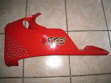 CBR 900 RR Fireblade SC28 Verkleidung unten links Seitenteil Bug Spoiler cowling