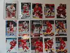 Vyacheslav Kozlov 1991-92  Rookie Card 15 Card Lot Detroit Red Wings