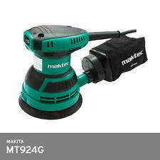 "Makita Maktec MT924G M930 Random Orbit Sander Kit 5"" 12,000rpm 2.6lb 220V Plug C"