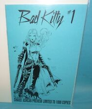 Bad Kitty #1 Ashcan Preview Limited 1st Print Chaos Comic F/Vf Condition