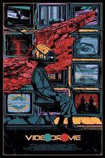 Videodrome by Kilian Eng Movie Print Poster James Woods Mondo David Cronenberg