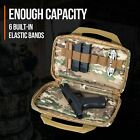Handgun Pistol Soft Case Carrying Storage Bag Shooting Range Gun Firearm Camo