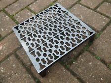 Quality Cast Iron air Brick Vent Cast Air vent 9 x 9  Victorian Pattern