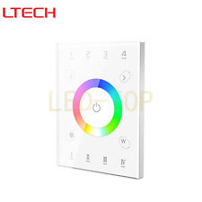 LTECH DMX512 RF Wireless WIFI Remote Control Multi-function UX8 RGBW Touch Panel