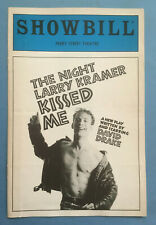THE NIGHT LARRY KRAMER KISSED ME Playbill - David Drake (1994)