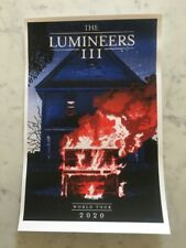 The Lumineers Exclusive VIP Poster Enamel Pin Set Bag and Magnet