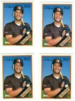 1988 Topps traded rookie baseball Roberto Alomar # 4T Hall of Fame 4 Card Lot