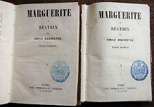 1851 PE recherché dans le monde entier SOUVESTRE + ZACCONE Marguerite et Beatrix