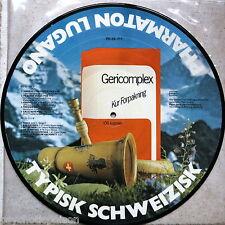Typisk Schweizisk – Pharmaton Lugano/ Gericomplex  LP Picture Disc Werbeplatte