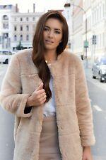 Zara Casual Hip Length Faux Fur Coats & Jackets for Women