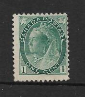 CANADA 1898-1902 QUEEN VICTORIA 1c BLUE GREEN UNUSED SG 151 REF 41