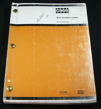 CASE W14 Feedlot Loader Tractor Parts Manual Book Catalog W 14 OEM Original