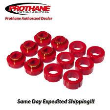Prothane 81-86 Chevrolet C/K10-30 Body Mount Bushing Kit 12PCS 7-108, fast ship