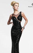 FAVIANA 7450   Brilliant Beauty Starburst Evening Dress Size 6