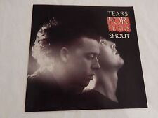 """Tears For Fears """"Shout"""" PICTURE SLEEVE! BRAND NEW! MINT! PERFECT!!"""