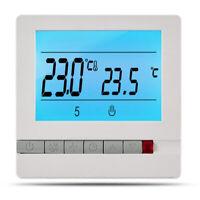 16A 230V ÉLectrique Thermostat de Chauffage par le Sol ContrôLeur de B7D7