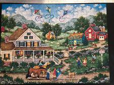 """Master Pieces Bonnie White 550 Piece Puzzle """"Crosswinds"""""""