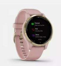 Garmin Vivoactive 4s GPS Dust Rose and Light Gold GPS Fitness Watch