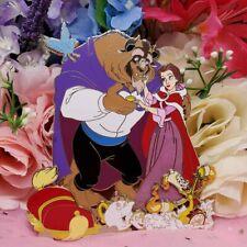 Super Jumbo Belle Beauty and the Beast Disney Fantasy Pin - Acme Tribute - Le 50