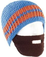 Bonnet avec barbe - Bleu / orange - Pearl Urban