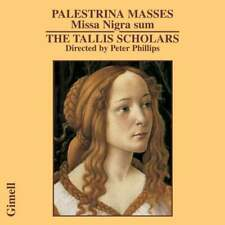Tallis Scholars. Palestrina: Missa Nigra sum, Plainchant, Motets. Peter Phillips