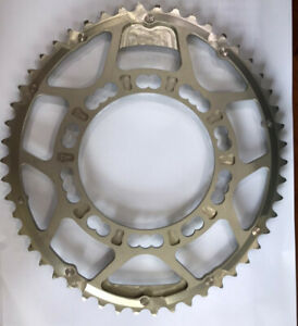ROTOR SILVER Qrings Road Oval Chainring 110BCD x 5bolt Outer 50T