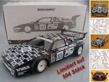 BMW M1 24 Stunden Le Mans 1986  MK Motorsport  Limitiert 504 Minichamps 1:18 OVP