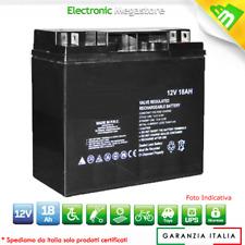 Batteria come Fiamm FG21803 Batteria AGM ermetica al piombo 12V 18Ah 18 AMPERE