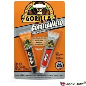 2x 14ml GORILLA WELD Titanium Bond Epoxy GorillaWeld Super Glue Adhesive NEW UK