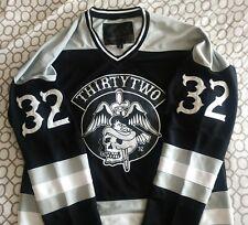 Thirtytwo Hockey Jersey Shirt L Snowboard Mint not boots Nhl Skull Dagger Rare