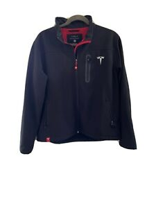 Tesla corporate jacket XL Unisex Rare Black