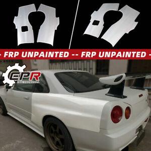 For Nissan Skyline R34 GTT GTR Conversion Kit OE Style FRP Unpainted Rear Fender