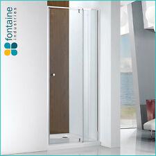 Lorna Wall to Wall Frame Shower Screen 760-860mm