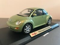 Maisto Volkswagen NEW BEETLE 2020 Special Edition Light Green Rare Color #31720