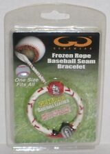 Gamewear STL Cardinals Classic Frozen Rope Baseball Leather Seam Bracelet 1 Size