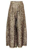 New JCrew Collection Merino Wool Culotte In Sequin Pants E5538 $450 Sz 14 RARE!