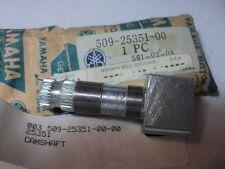 1974-75 YAMAHA YZ250 YZ360 MX250 MX400 CAMSHAFT BRAKE NOS OEM P/N 509-25351-00