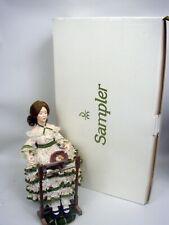 Danbury Mint Dolls - Sampler, Mother's Loving Touch, Sleepy Little Sailor In Box
