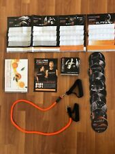 P90X3 Complete 10 DVD set with Nutrition & Fitness Guide and resistance band