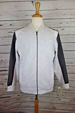 NEW INC International Concepts Men's Colorblocked Knit Jacket White/Gray L $79