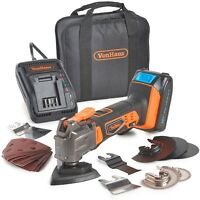 VonHaus 20V Cordless Oscillating Multi-Tool Kit with Li-Ion Battery & Charger