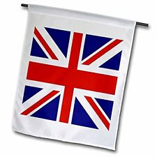 3dRose fl_62560_1 Union Jack Old British Naval Flag Garden Flag, 12 by 18-Inch,