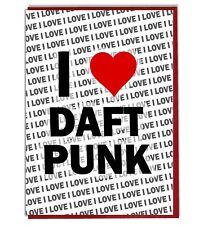 Greeting Card - Birthday Card - I Love Daft Punk
