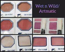 2pcs Vintage Makeup Artmatic Wet n Wild Blush 832D 834C 832C 835C 832C 362Pro