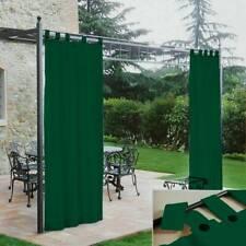 Tenda gazebo Morbidissimi idrorepellente con passanti 140x270 cm - verde Z159