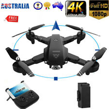 Drones X Pro 2.4G With 1080P HD 4K Camera GPS WIFI FPV Foldable Quadcopter 3D AU