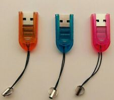 3x USB Micro SD Card Reader Adapter supporta 2 GB 4 GB 8 GB 16 GB 32 GB Mobile PC Auto